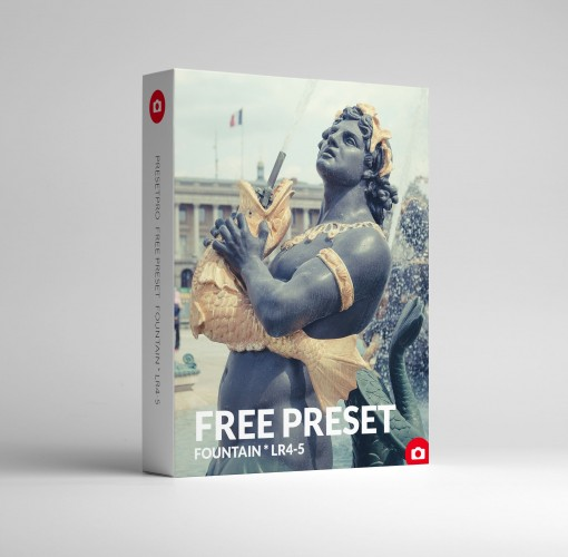 Free Lightroom Preset Fountain