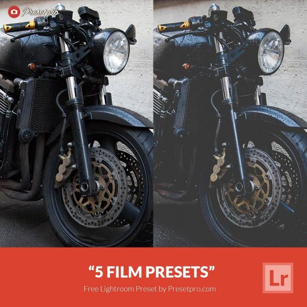 5 Free Lightroom Presets Retro Film