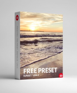 Free Lightroom Preset Sunset