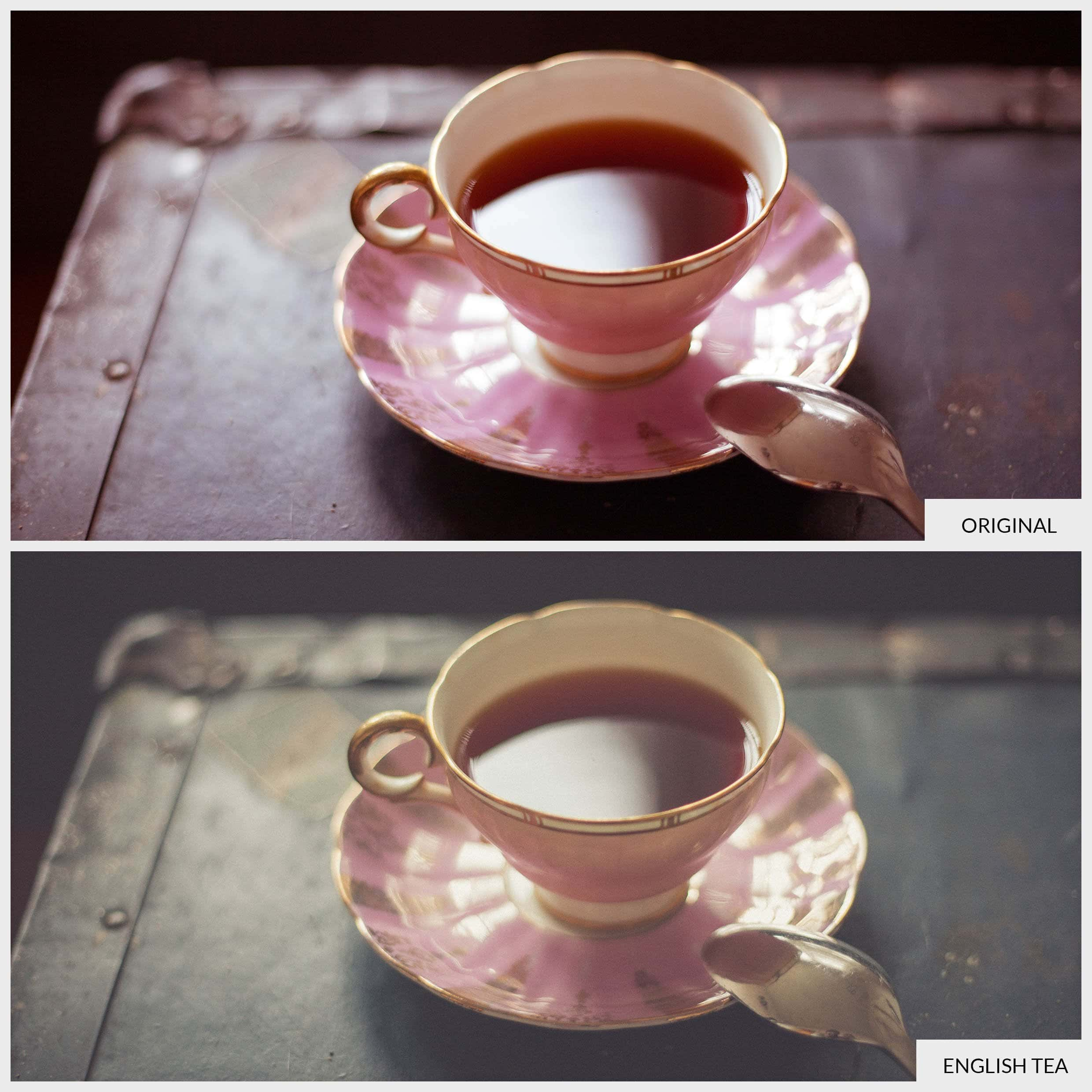 Free Lightroom Preset English Tea