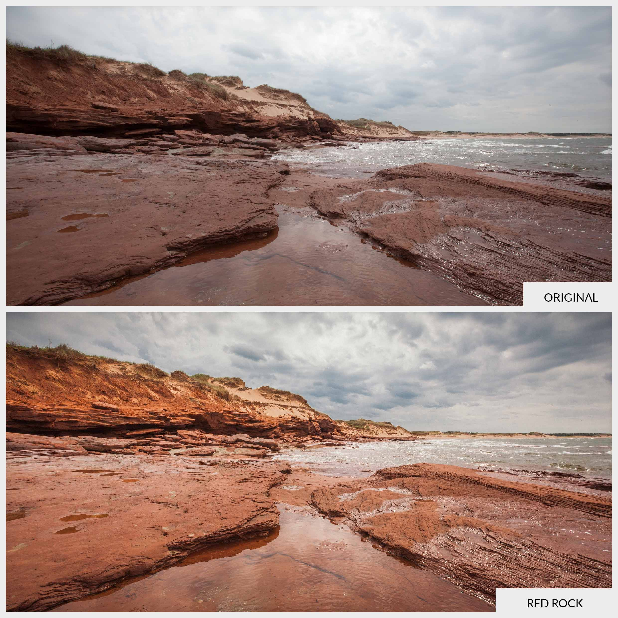 Free Lightroom Preset Red Rock