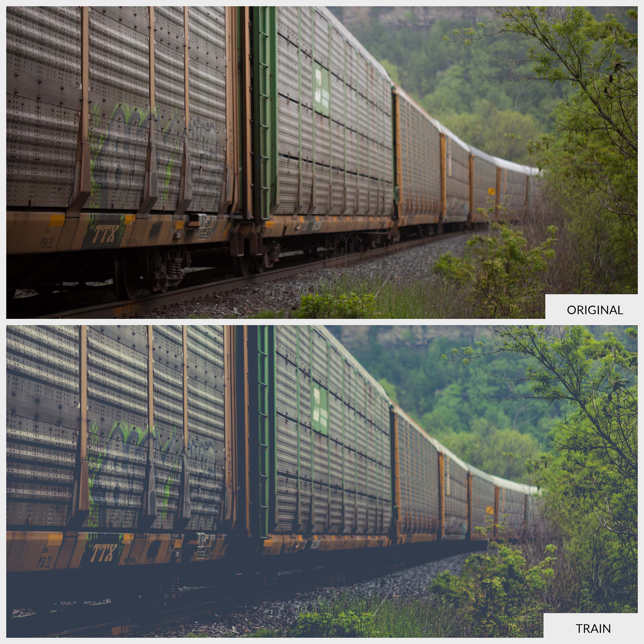 Free Lightroom Preset Train