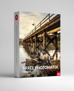 5 Free PHOTOMATIX PRESETS