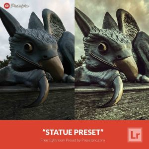 Free-Lightroom-Preset-Statue