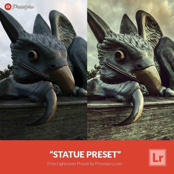 Free-Lightroom-Preset-Statue