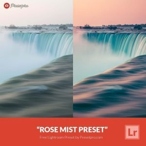 Free Lightroom Preset Rose Mist
