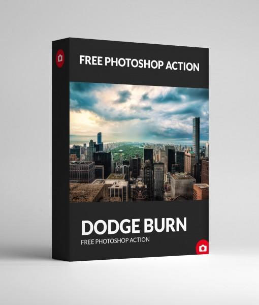 Free Photoshop Action Dodge Burn