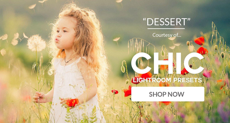 Free Lightroom Preset Dessert Download Now