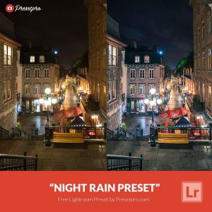 Free-Lightroom-Preset-Night-Rain
