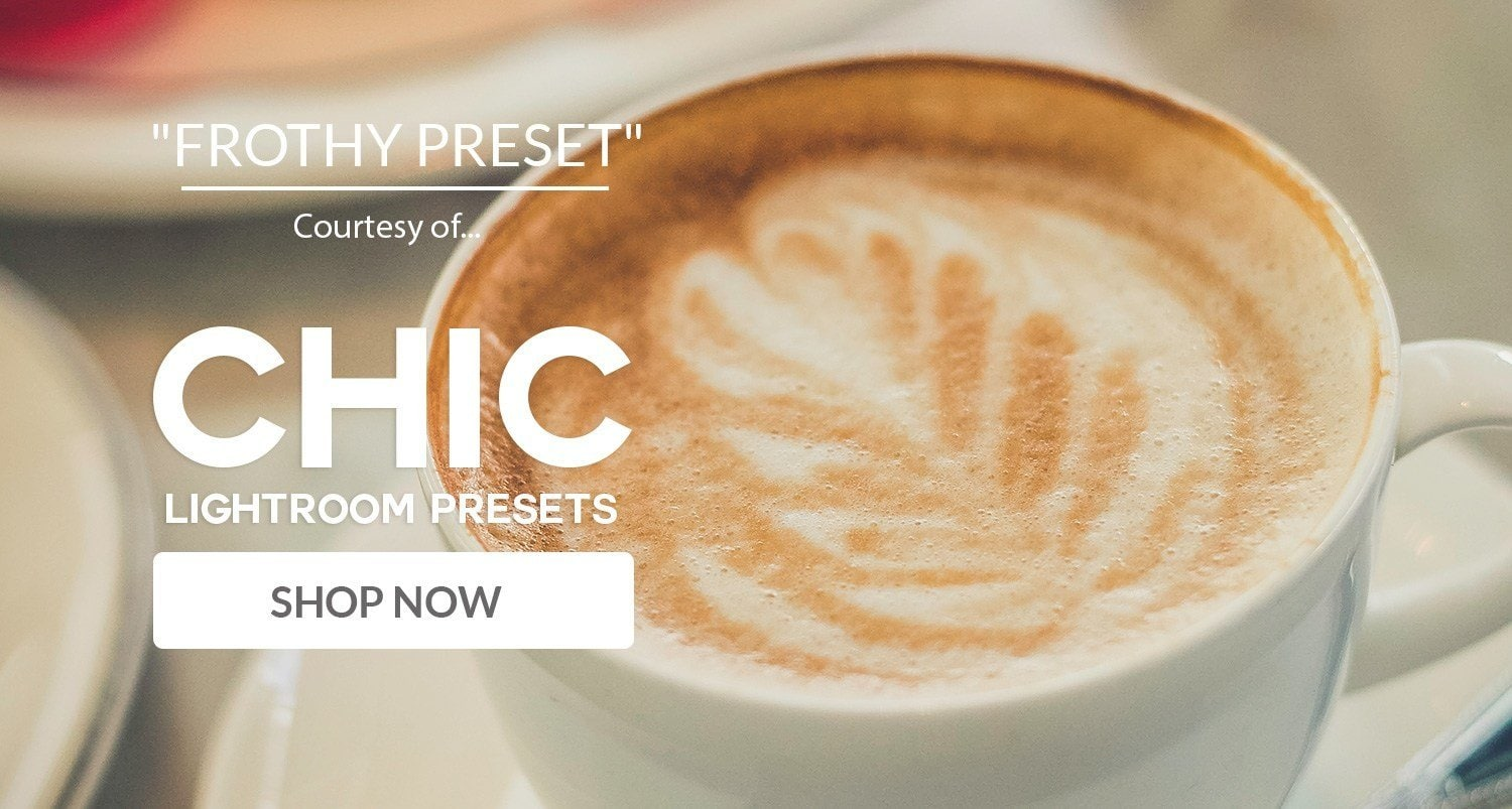 Free Lightroom Preset Frothy
