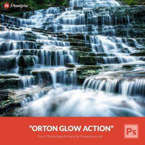 Free Photoshop Action & Tutorial Orton Glow