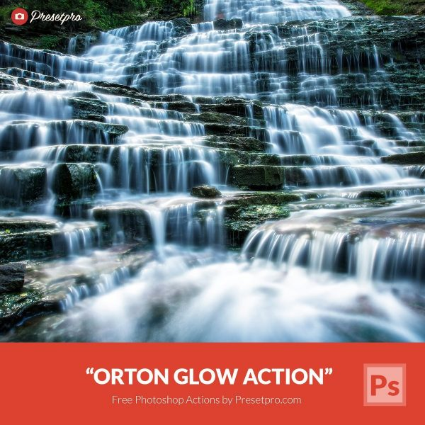 Free Photoshop Action & Tutorial Orton Glow