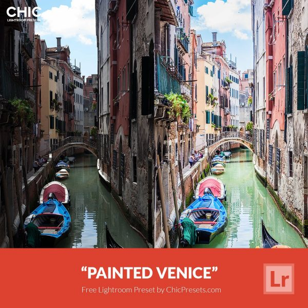 Free Lightroom Preset Painted Venice