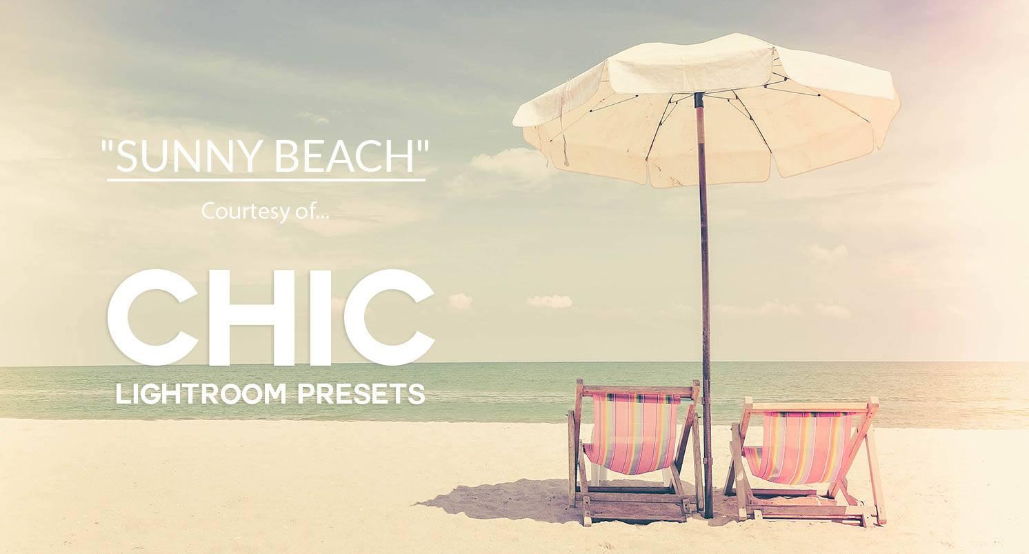 Free Lightroom Preset Sunny Beach