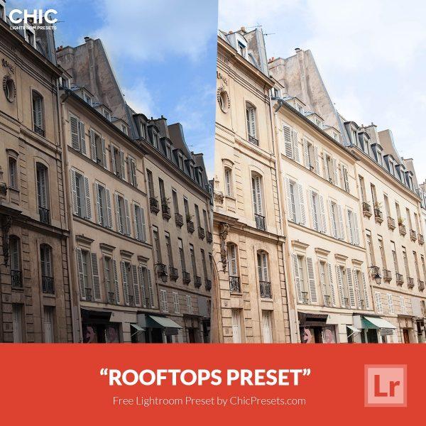 Free Lightroom Preset Rooftops