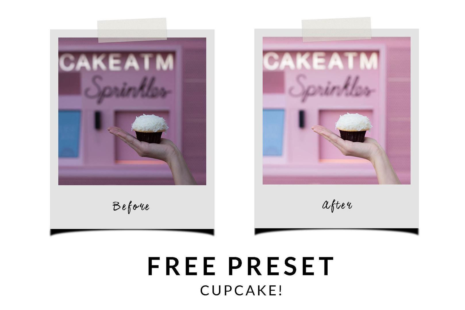 free-lightroom-preset-cupcake