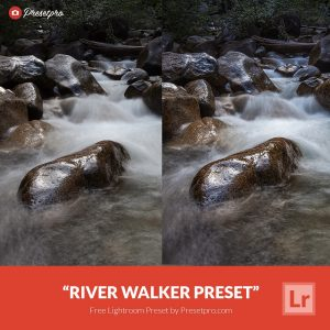 Free Lightroom Preset River Walker Polarizer